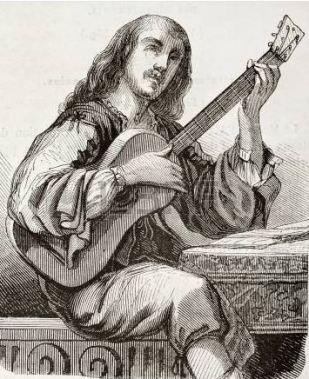 ancient guitar